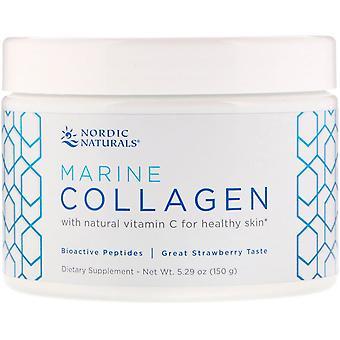 Nordic Naturals, Marine Collagen, Strawberry, 5.29 oz (150 g)