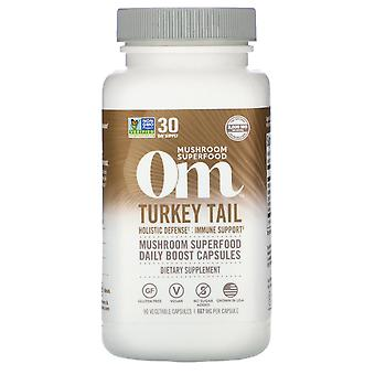 Om Mushrooms, Chaga, 667 mg, 90 Vegetarian Capsules