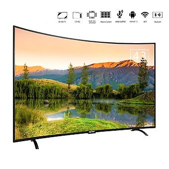 Pantalla curvada Hd Tv Led Televisión 4k Smart Tv 43 Pulgadas Con Bluetooth