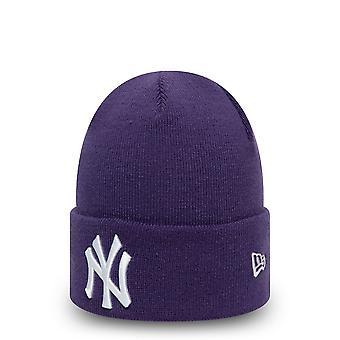 العصر الجديد المرأة الشتاء قبعة Beanie -- نيويورك يانكيز فيوليت
