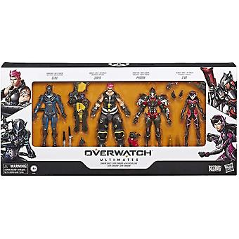 4-Pack Overwatch Ultimates Carbon Series Action Figuur 20cm