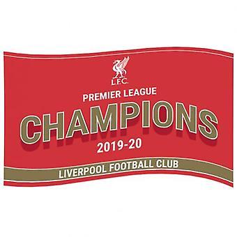 Liverpool Premier League Champions Flag