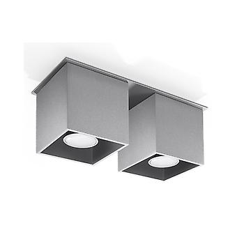 Plafond Quad 2 Grey
