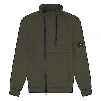 Lyle & Scott Trek Green Double Zip Jacket JK1324V