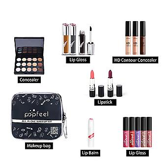Professional Make Up Sets Cosmetics Kit, Eyeshadow, Lipstick, Eyebrow Pencil,