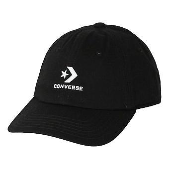 Converse Lock Up Baseball Cap - Black / White