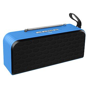 Bluetooth speaker with FM Radio Micro-SD card reader and LinQ Blue USB key