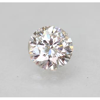 Sertifioitu 0,50 karat E VS1 pyöreä brilliant parannettu luonnollinen löysä timantti 5,09mm