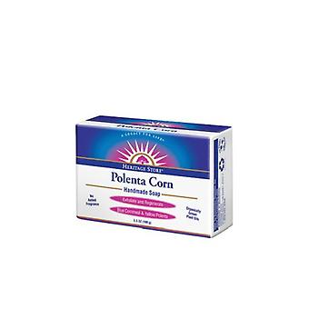 Heritage Products Polenta Corn Bar Soap, 3.5 oz