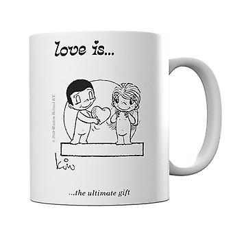 El amor es la mejor taza de regalo