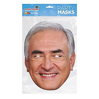 Mask-arade Dominique Strauss Kahn Celebrities Party Face Mask