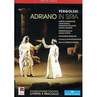 G.B. Pergolesi - Adriano in Siria [DVD] USA import