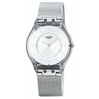 Swatch Haut Metall stricken Quarz Sfm118m Frauen's Uhr