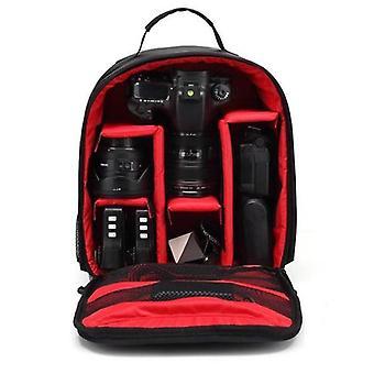 Sac à dos Imperméable à l'eau Dslr, sac photo numérique vidéo boîtier multifonctionnel