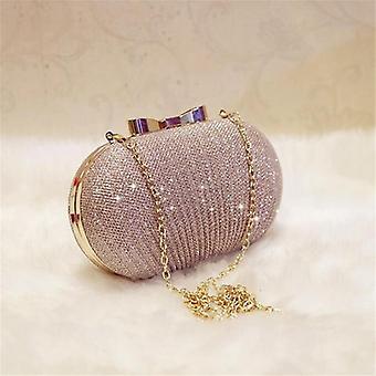 Luxury Clutch Evening Women Bags, Wedding Bolsa Female Handbags For Lady, Chain