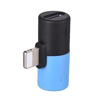 2 in 1 Mini Lightning Splitter Adapter Audio AUX Converter Adapter