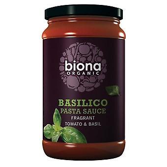 Biona Organicanic Basilico Tomato & Basil Sauce - Vegan 350g x6
