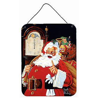 Jultomten vid tolvslaget eller dörrhängningstryck