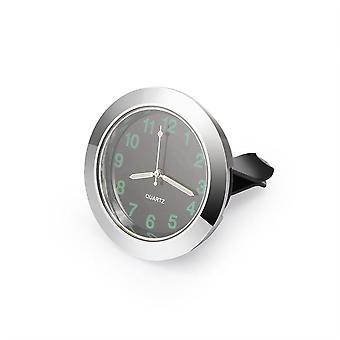 Luminous Auto Gauge Clock Mini Car Air Vent Quartz Clock