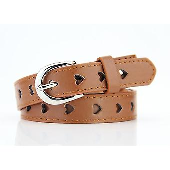 Heart-shaped Wild Woman Pin Buckle Belt
