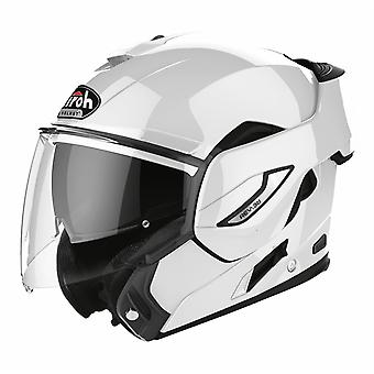 Airoh Rev19 Flip Color Modular Flip Up Motorcycle Helmet White
