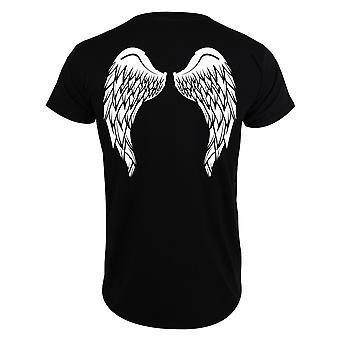 Grindstore Miesten Angel Wings T-paita