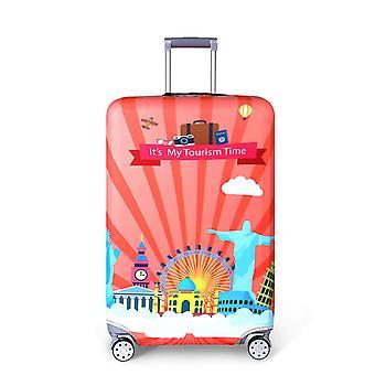 Les bagages de voyage Spandex couvrent le temps touristique