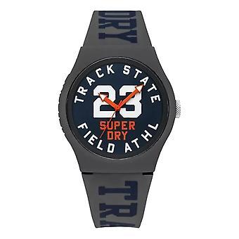 Superdry Urban Track & Field Watch - Grey / Navy
