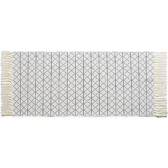 hi-home Area Rug for Living Room, Cotton Small Rugs with Tassels for Bedroom Kitchen