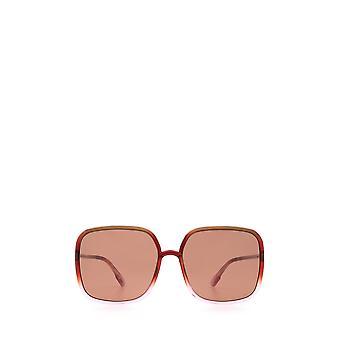 Dior SOSTELLAIRE1 brown gradient pink female sunglasses