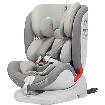 Apramo All Stage Child Car Seat Group 0+/1/2/3 Slate Grey