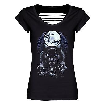 Requiem Collective Womens/Ladies The Bewitching Hour T-Shirt