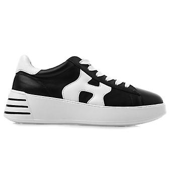 Hogan Rebel Sneaker Preto e Branco Couro