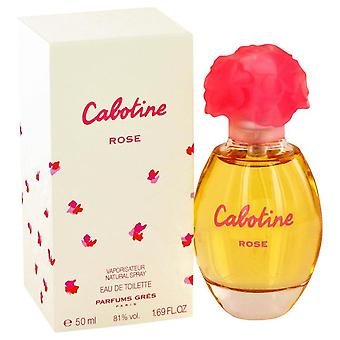 Cabotine Rose Eau De Toilette Spray By Parfums Gres 1.7 oz Eau De Toilette Spray