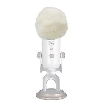 Artifical Fur szélmikrofon fedél Muff szélvédő