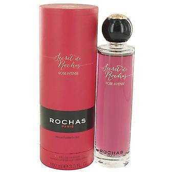 Secret De Rochas Rose Intense Eau De Parfum Spray By Rochas 3.3 oz Eau De Parfum Spray
