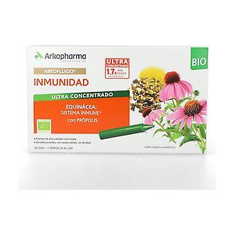 Arkofluido Immunity 20 ampoules