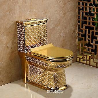Keramische eendelige toilet creatieve badkamerstoel, toilet super cycloon type