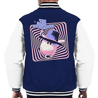 The Magic Roundabout Ermintrude Psychedelic Lines Men's Varsity Jacket