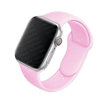 سوار معصم رياضي مطاطي - حزام سيليكون لفرقة Apple Watch Band