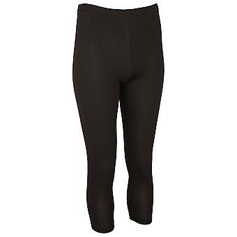 Crea Concept Black Soft Stretchy Cotton Leggings