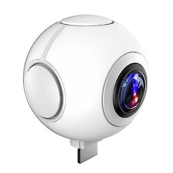360度パノラマカメラ高精細魚眼デュアルレンズ携帯電話VR