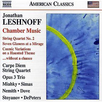 J. Leshnoff - Jonathan Leshnoff: Chamber Music [CD] USA import