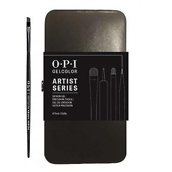 Opi Set di pennelli Gelcolor della serie Artist