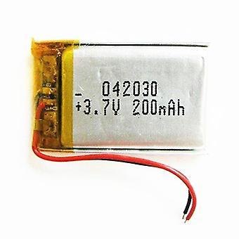 Polymeeri litium akku 3,7 V