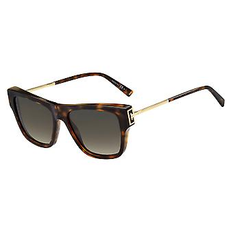 Givenchy GV7190/S 086/HA Havana/Brown Gradient Sunglasses