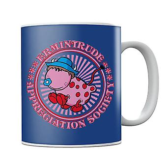 The Magic Roundabout Ermintrude Appreciation Society Mug