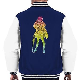 She-Ra Gradient Silhouette Men's Varsity Jacket
