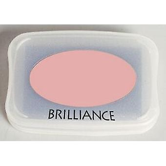 Tsukineko Brilliance Ink Pad - Pearlescent Coral