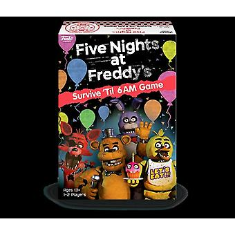 Five Nights At Freddy's - Survive 'Til 6am Game USA import